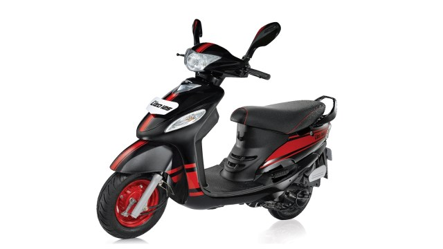 Mahindra Rodeo UZO 125 - colour- Racetrack Black