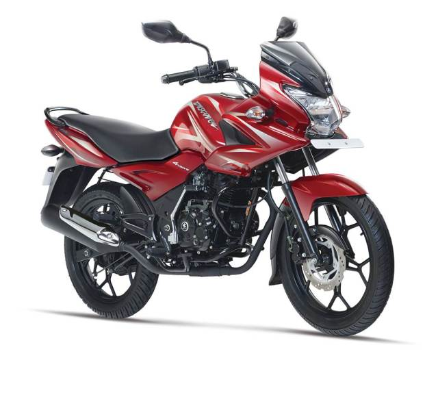 New Bajaj Discover 150F colour - wine red