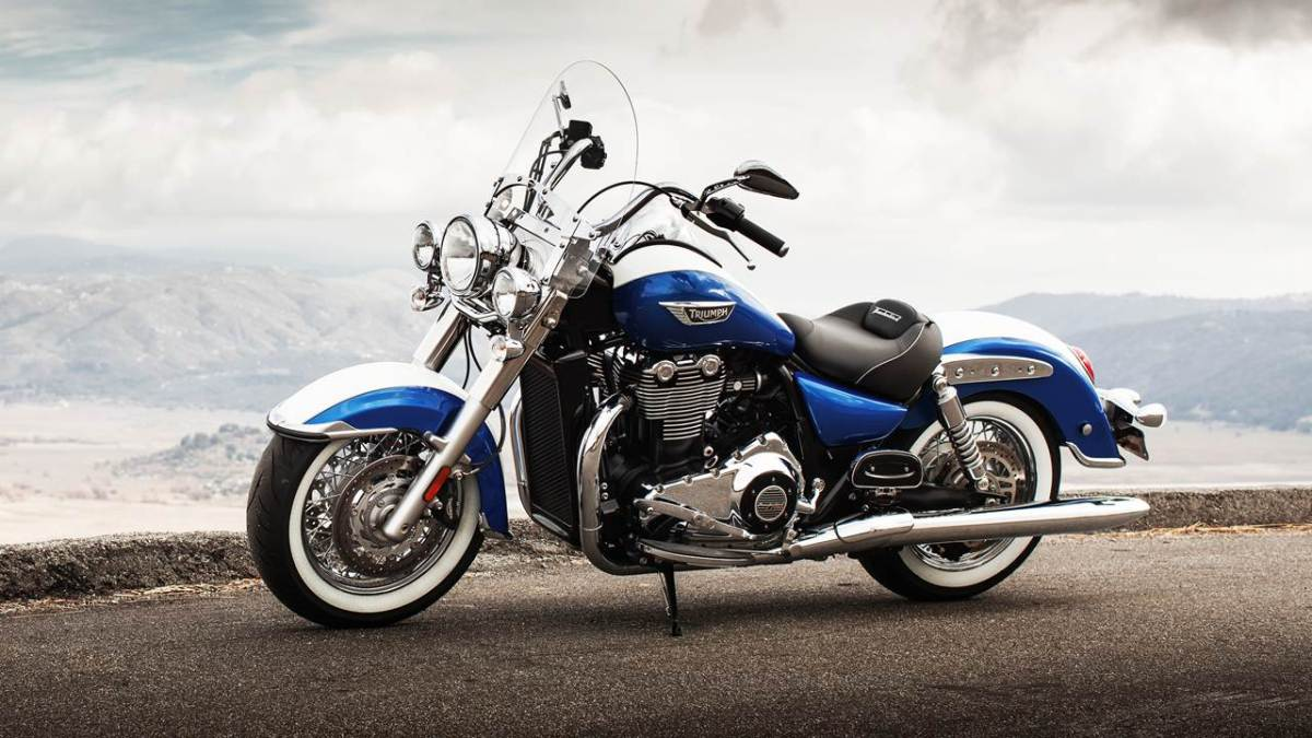Triumph thunderbird LT India