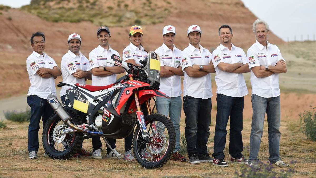 honda dakar rally 2015