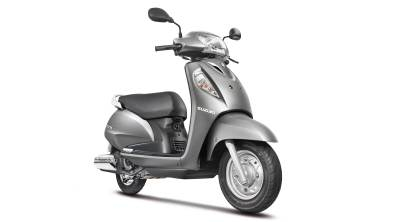 new 2014 Suzuki Access colour - Grey