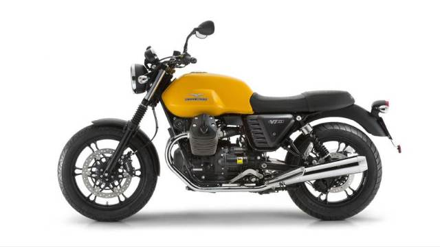 New Moto Guzzi V7 II side