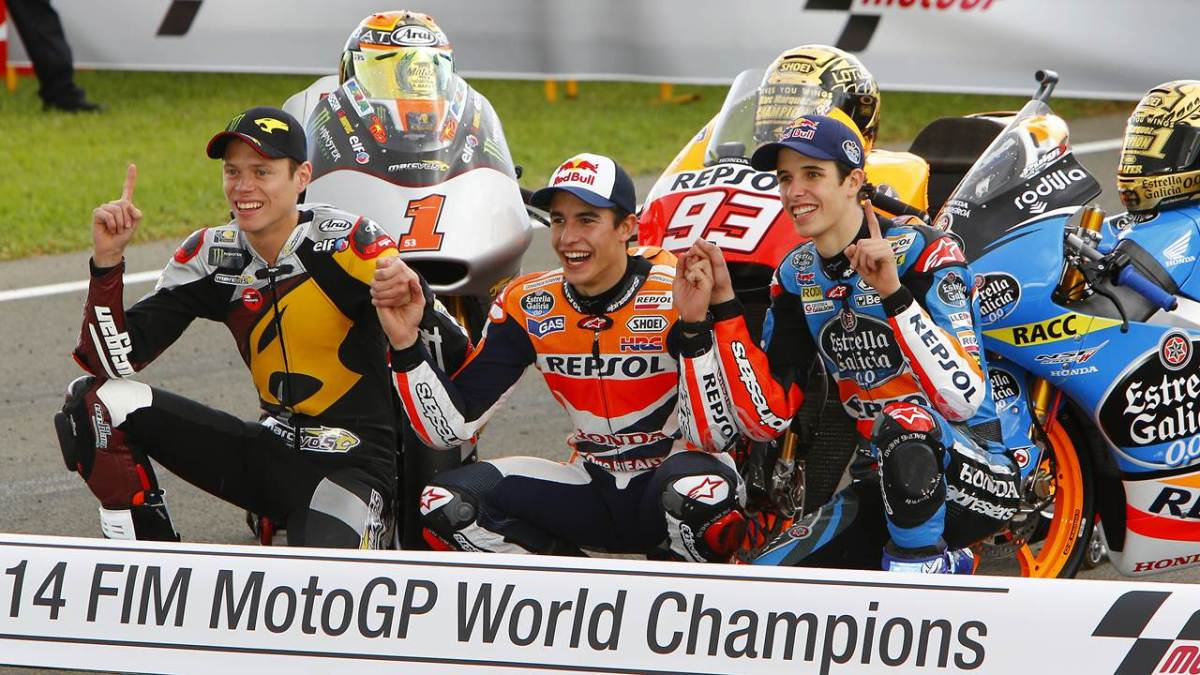 2014 motogp world champions