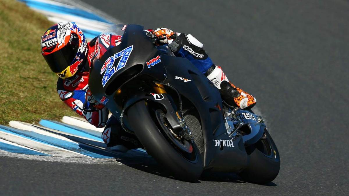 Casey Stoner to continue testing for Honda in 2015