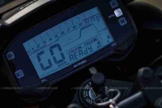 suzuki gixxer 155 digital meter