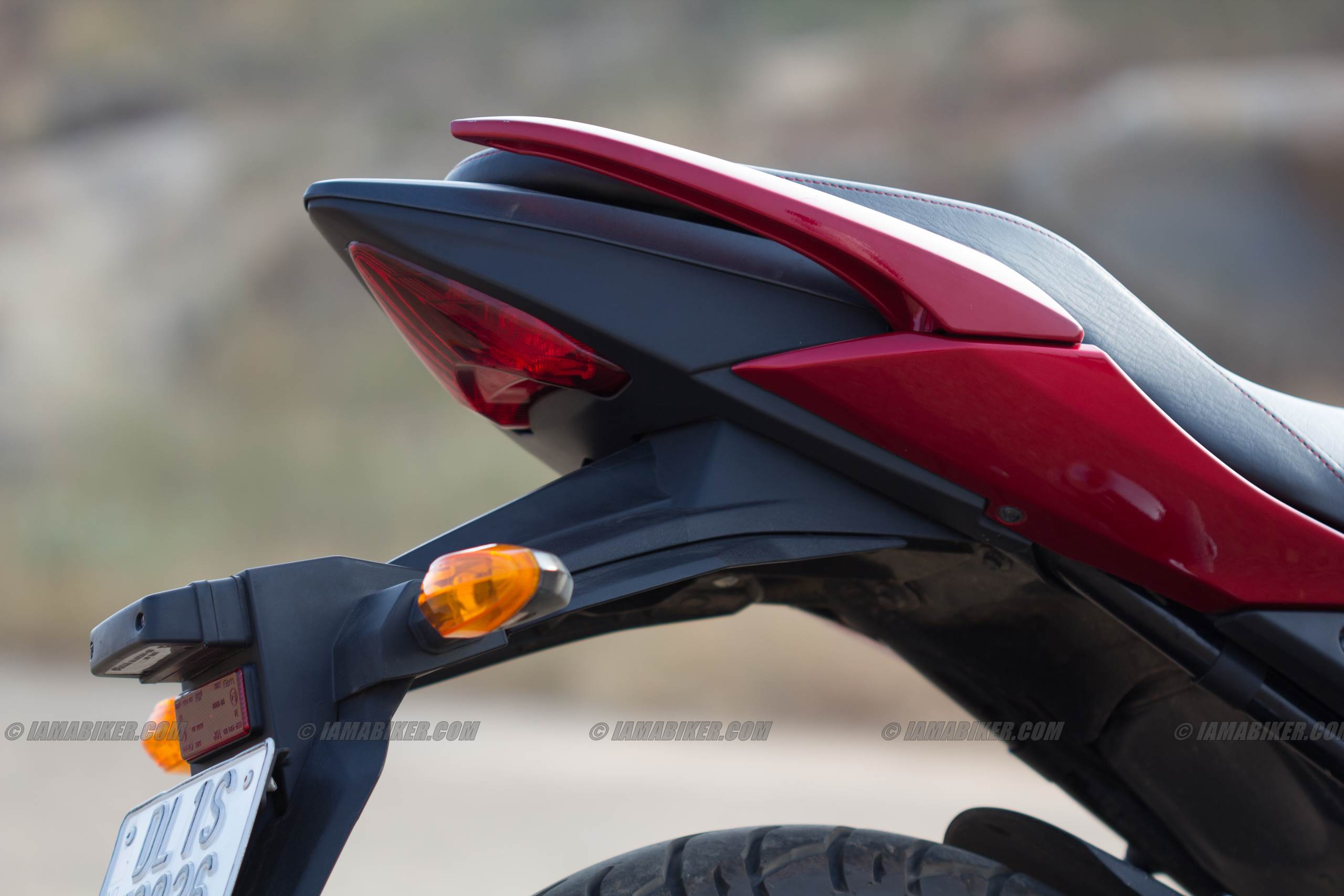 suzuki gixxer 155 tail section