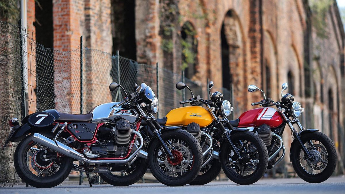 2015 Moto Guzzi V7 II for India