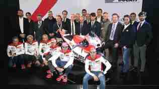 Ducati GP15 development team