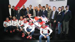 Ducati GP15 development team