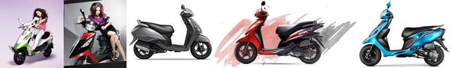 TVS scooters India