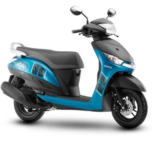 Yamaha Alpha scooter