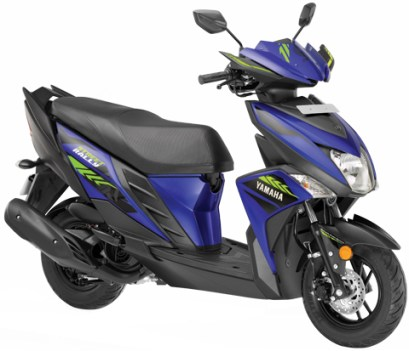Yamaha Ray ZR Street rally scooter