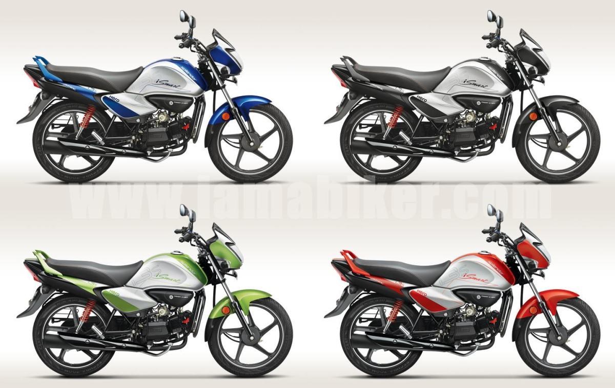 hero splendor ismart colour options