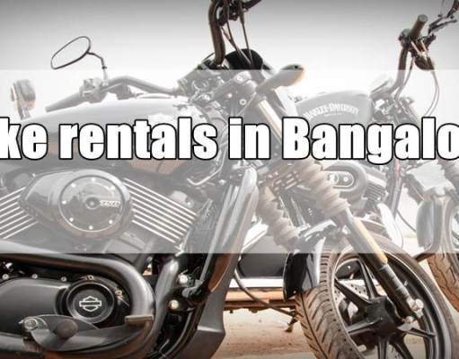 Bike / Motorcycle rentals in Bangalore