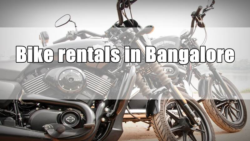 Bike rentals in Bangalore
