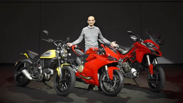 Ducati scooter a possibility says CEO Claudio Domenicali