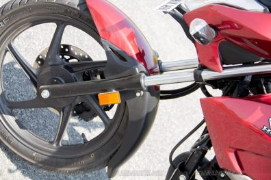 Honda CB Unicorn 160 CBS front fork left side