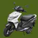 Honda Dio black colour option
