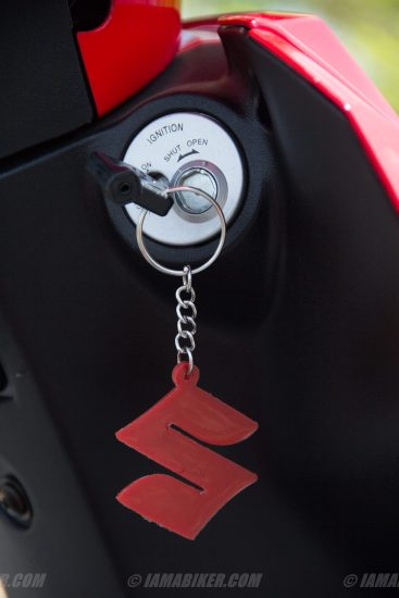 Suzuki Lets scooter key and ignition