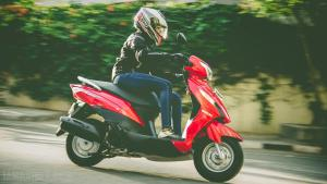 Suzuki Lets scooter review road test