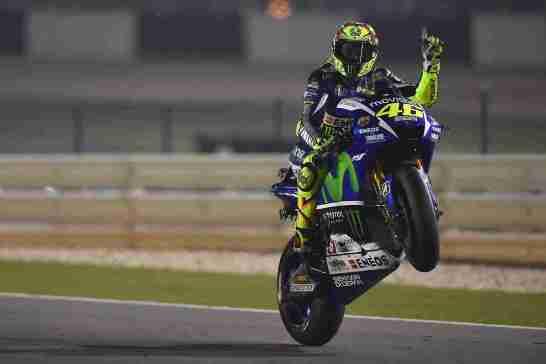 Valentino Rossi Movistar Yamaha MotoGP Qatar 2015