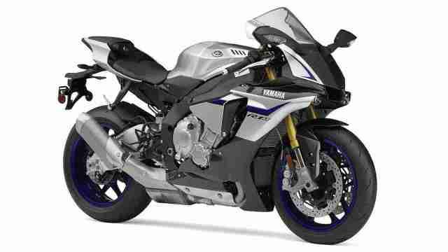 2015 Yamaha YZF-R1M Silver Blu Carbon colour option