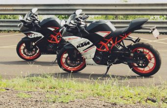 KTM RC 200 and RC 390