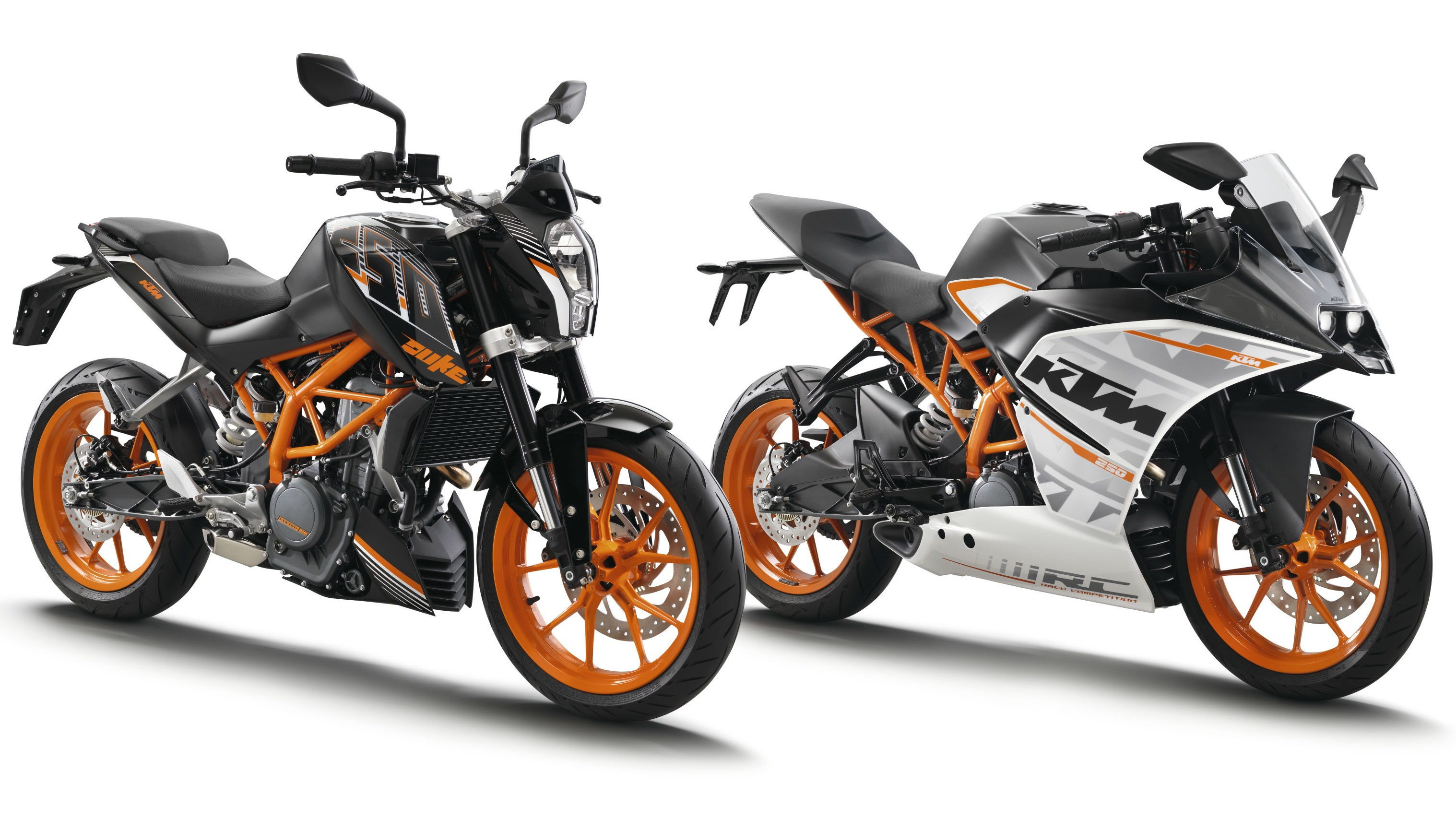 KTM RC 250 and Duke 250 for Japan