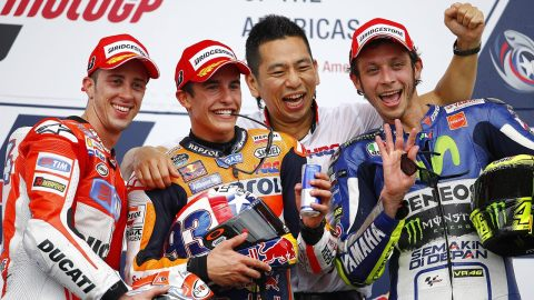 MotoGP COTA Texas 2015 winners