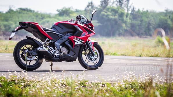 Pulsar RS 200 HD wallpaper red ABS