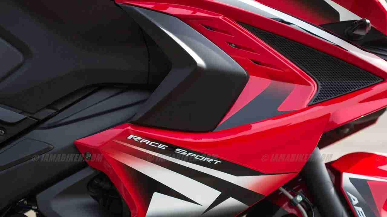 Pulsar RS 200 fairing design close up