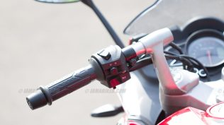 Pulsar RS 200 switch gear left