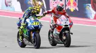 Valentino Rossi Andrea Dovizioso - MotoGP COTA Austin Texas