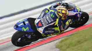 Valentino Rossi HD wallpaper elbow down - MotoGP COTA Austin Texas