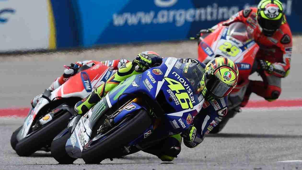 Valentino Rossi knee down HD wallpaper MotoGP COTA Austin Texas