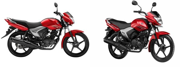 Yamaha Saluto 125 Victory Red colour option