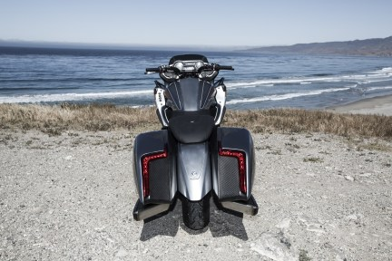 BMW Motorrad Concept 101 tail section