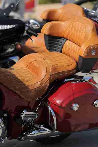 Indian Roadmaster seat