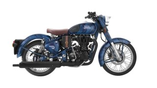 Royal Enfield Classic 500 Squadron Blue Despatch limited edition