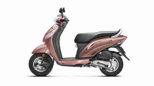 New 2015 Activa i Autumn Beige Metallic colour option