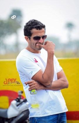 Sameer Venugopalan - Chief Instructor Apex Racing