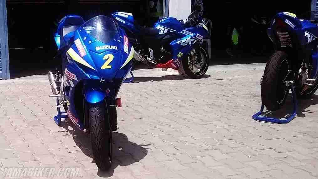 Suzuki Gixxer SF Gixxer Cup race spec