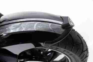 Triumph Rocket X limited edition grinded metal paint job