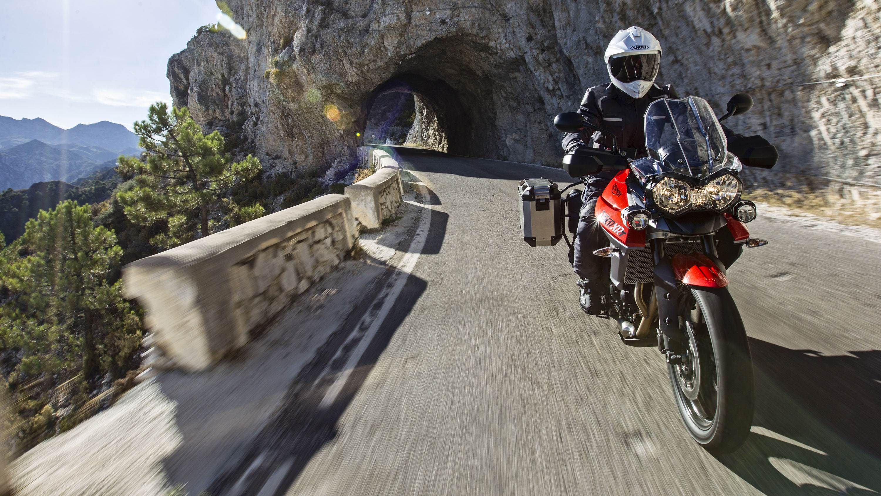 Triumph Tiger 800 XRT HD wallpaper