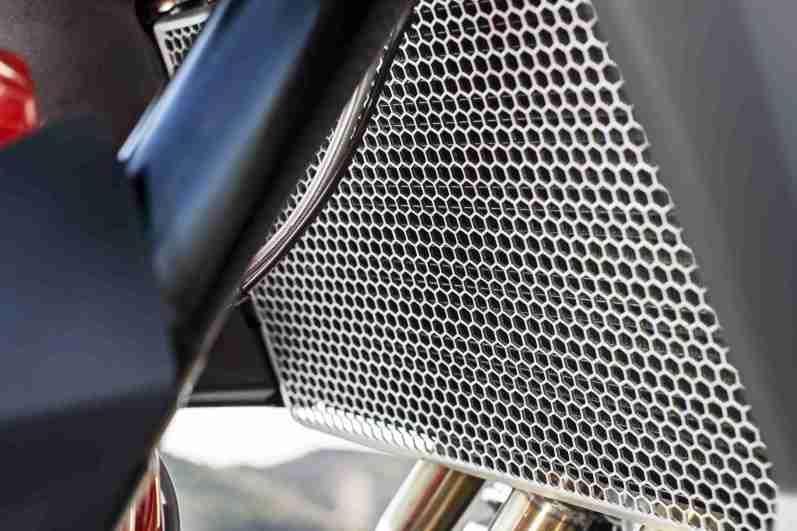 Triumph Tiger 800 XRT aluminium grill