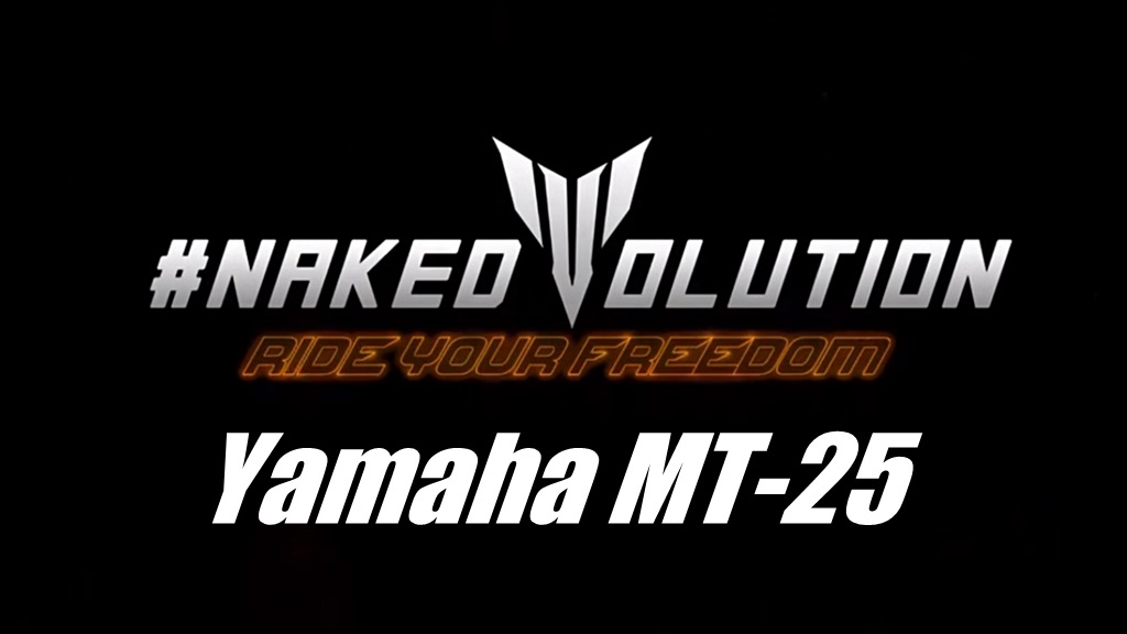 Yamaha MT-25 - Naked Evolution