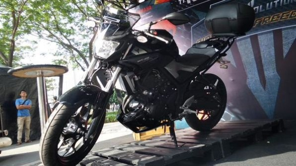 Yamaha MT 25 black