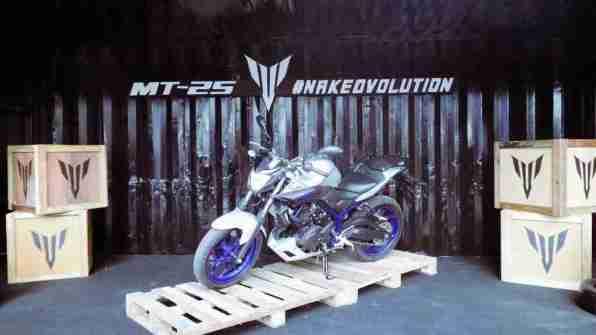 Yamaha MT 25 presentation