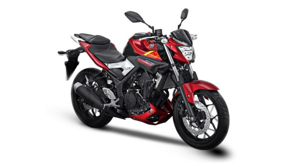 Yamaha MT 25 red colour option