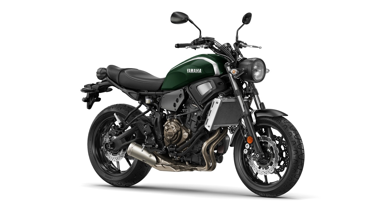 2016 Yamaha XSR700 Forest Green colour option